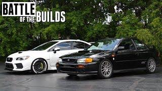 400HP Subaru Impreza RS vs Subaru WRX STI - Battle of the Builds Ep 3