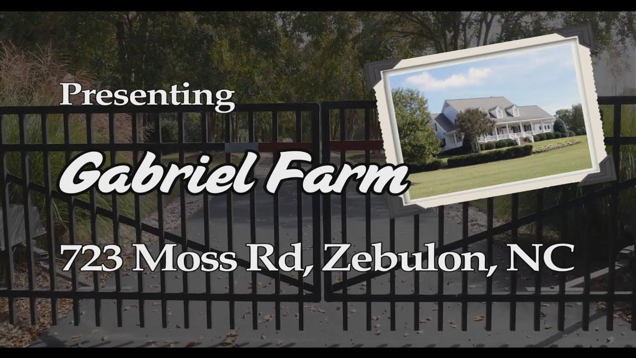 Gabriel farm amazing 30 acre estate for sale zebulon nc