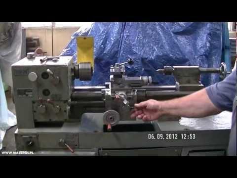 Modernistyczne Tokarka TSB-20 WWW.MASZPOL.PL - YouTube RF08