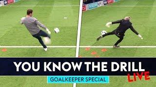Asmir Begovic v Jimmy Bullard v Lloyd Griffith | You Know The Drill LIVE | Goalkeeper Special