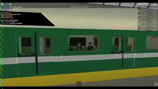 ROBLOX TTA Subway Train Ride from Tobes Town Center to Broadway.