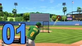 MLB 14 Road to the Show - Part 1 - First Game (Playstation 4 Let