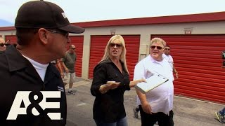 Storage Wars: Dave Fights Dan and Laura (S8, E7) | A&E