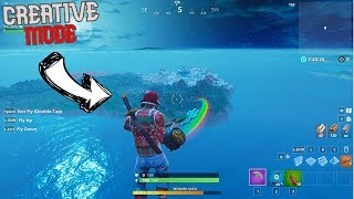 Get Out Of Creative Island *Snowboard glitch?* AFTER PATCH Fortnite ( GLITCH )