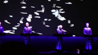 Kraftwerk-Boing Boom Tschak/Techno Pop (Live At The Tate Modern London 09/02/2013)