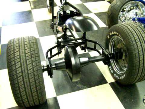 Trike Chopper Frame Rolling Chassis By: Santiago Chopper - YouTube
