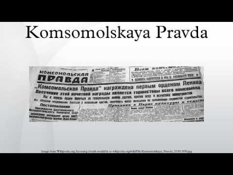 Komsomolskaya Pravda
