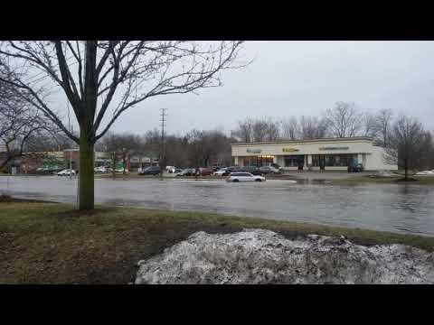 East Lansing  MI flooding