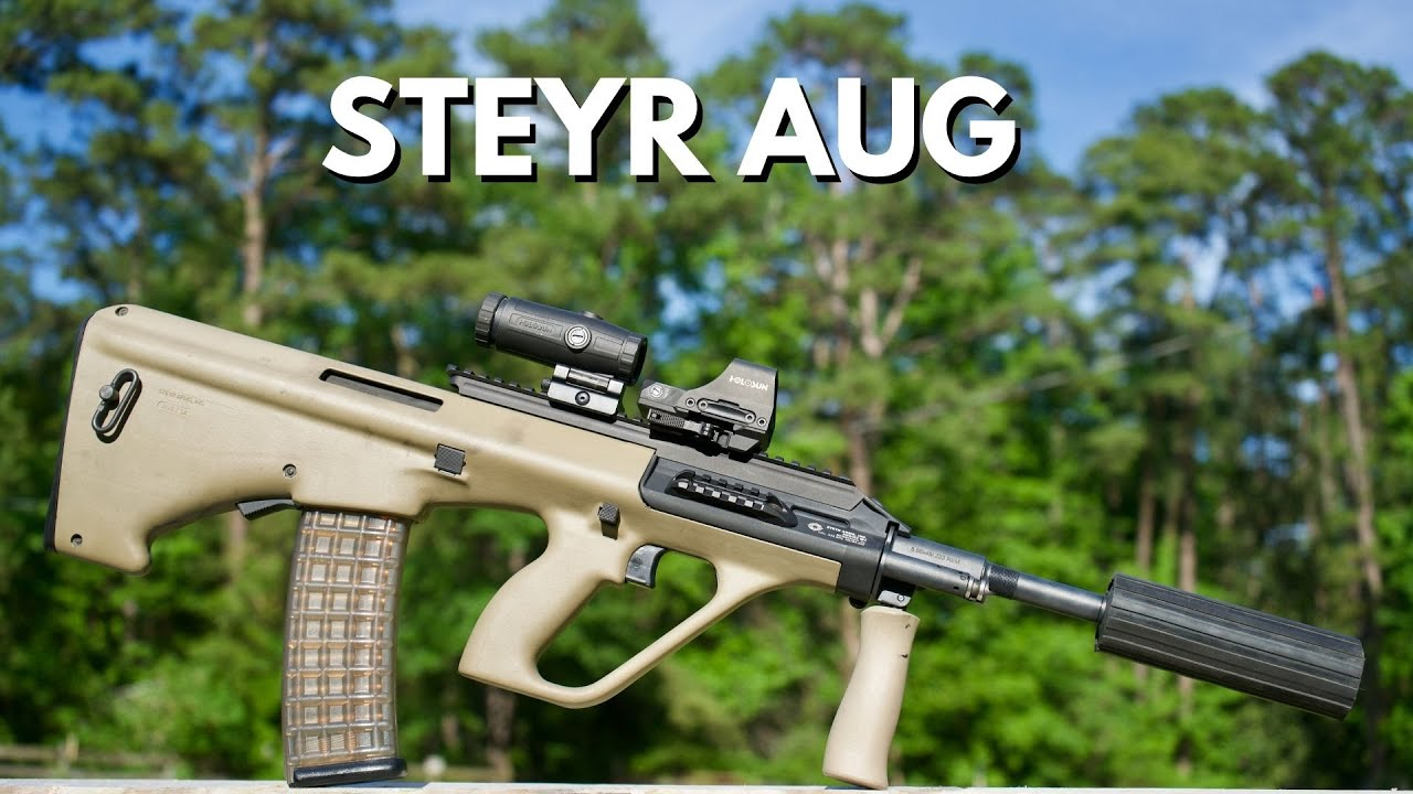 Steyr AUG Rifle Review VS AR15
