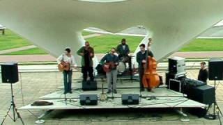 """burn"" live at De La Warr pavilion bandstand - the Mountain Firework Company"