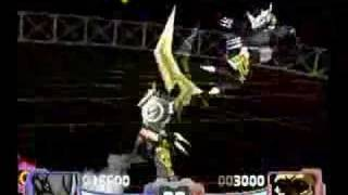 Digimon Rumble Arena BlackWarGreymon vs Reapermon