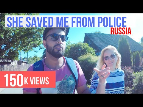 Russian Police can't digest an Indian backpacker - Pskov - Russia Travel Vlog 4