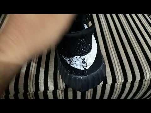 b750af592f737 Unboxing Adidas yeezy boost 350 v2 copy ( Amazon India) - YouTube