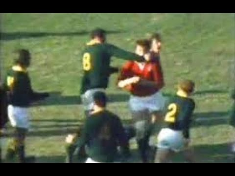 Rugby Fights And Punch Ups. 1974 British & Irish Lions Tour