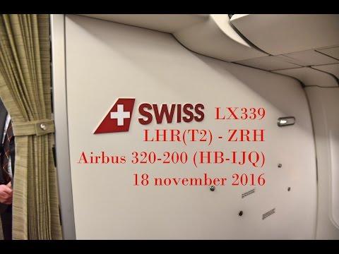 Swiss - LX339 - London Heathrow to Zurich - A320-200 (HB-IJQ)