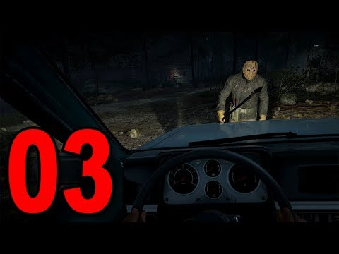 Friday the 13th The Game - Part 3 - DRIVING THE CAR!