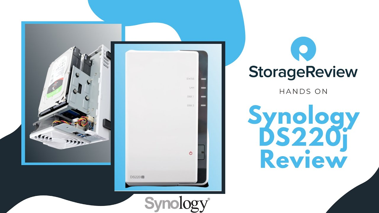 Synology DS220j Review - StorageReview