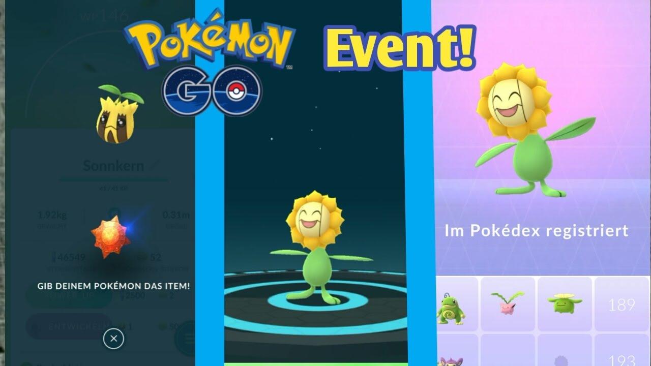Oster Event Pokemon Go : sonnkern zu sonnflora entwickeln oster event pokemon go 17 deutsch youtube ~ Orissabook.com Haus und Dekorationen
