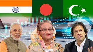 ঋনের বোঝা কার কত? প্রসঙ্গ- বাংলাদেশ, পাকিস্তান এবং ভারত ।। Foreign Debt 2018