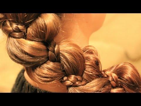 最新のヘアスタイル 髪型 三つ編み : ゆるふわ 三つ編みアレンジ 4 ...