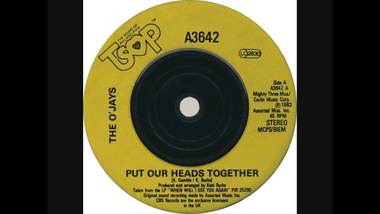 "O' Jays - Put Our Heads Together (Dj ""S"" Remix)"