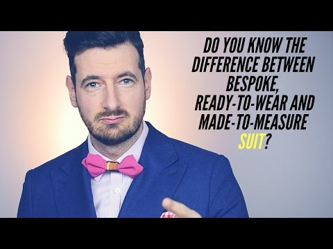 Difference between Ready-to-Wear, Made-to-Measure and Bespoke suit? Made to measure mensfinest.co.uk