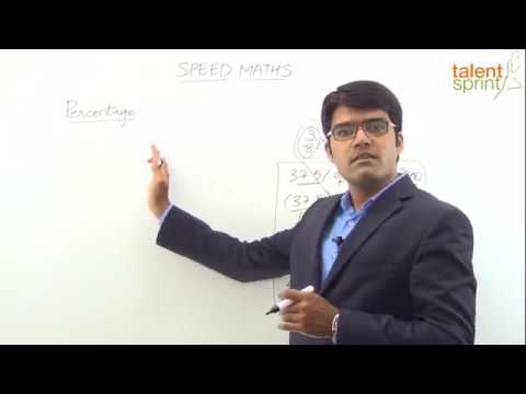 Percentage Problems tricks and shortcuts by Rohit Agarwal in Hindi   TalentSprint