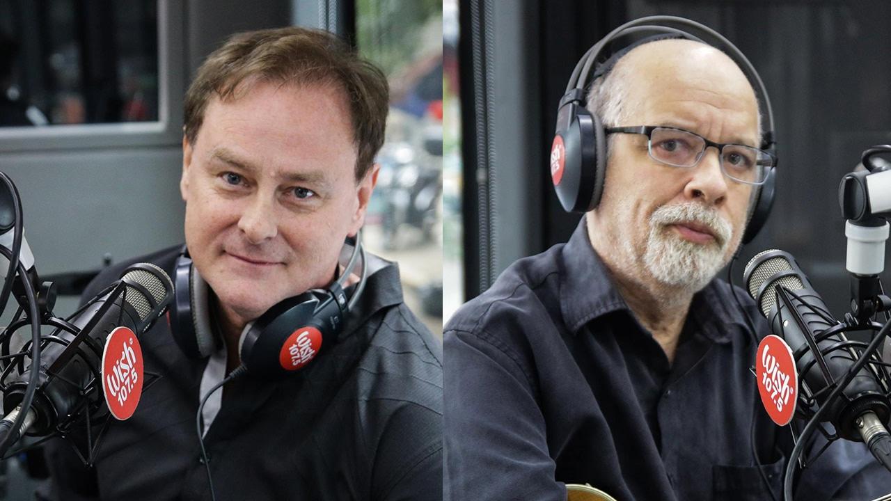 Dan Hill at J Michaels, nag enjoy sa kanilang pagtatanghal sa Wish Bus