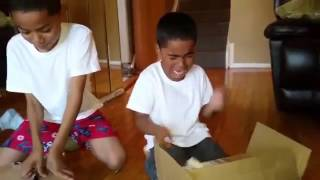 Dad Pranks Sons With Fake Gifts