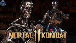 Mortal Kombat 11 Online - TERMINATOR ENDOSKELETON CHALLENGE!