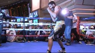 Amir Khan Wears $50,000 Boxing Shorts For Alexander Fight