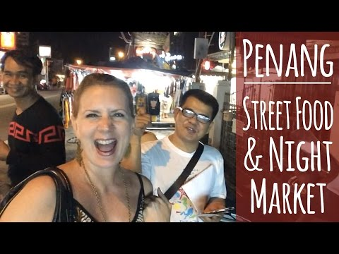 Penang | Batu Ferringhi Night Market & Street Food | Malaysia Food Blog