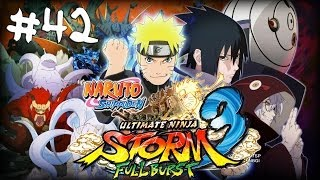 [HD]Naruto SUN Storm 3 Full Burst - Part 42 - KCM Naruto vs Third Raikage (Japanese/No commentary)