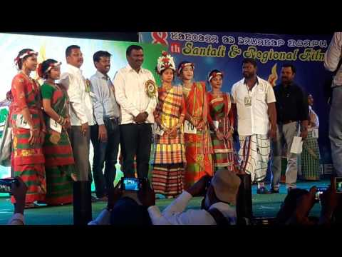 Jharkhand Santali Fashion So 2017 Jamshedpur Cine Award