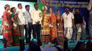 Jharkhand santali fashion so 2017 jamshedpur cine award