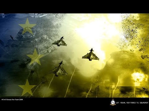 C&C: Generals Zero Hour: Europe Mod (CnC Europe) Royal Air Force VS Air Force General