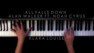 Download Lagu ALL FALLS DOWN | Alan Walker ft. Noah Cyrus Piano Cover Mp3