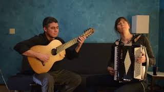 "Julio Lemos and Diana Strong Plays ""Cabaceira Meu Amor"" by Sivuca"