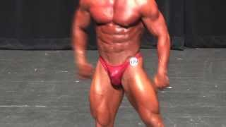 Andrew McCoy on stage at the 2013 NPC NorthStar.