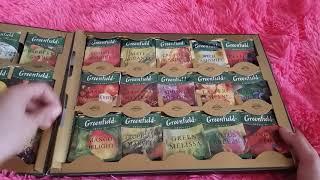 Обзор на подарочный набор чая гринфилд