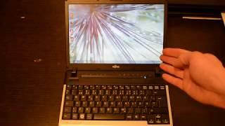 обзор моего ноутбука Fujitsu Lifebook P701. Немного юмора)))