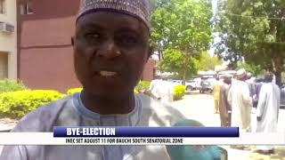 BYE-ELECTION: INEC SET AUGUST 11 FOR BAUCHI SOUTH SENATORIAL ZONE
