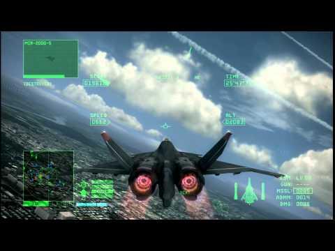 ACE COMBAT 6 Mission1  グレースメリア侵攻
