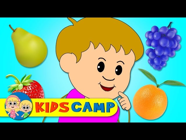 Kidscamp - Johnny Johnny Rhymes | Fruit Version of Johny Johny | Nursery Rhymes & Baby Songs