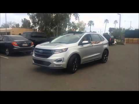 Henry Payne Goes Zero To  In The Ford Edge
