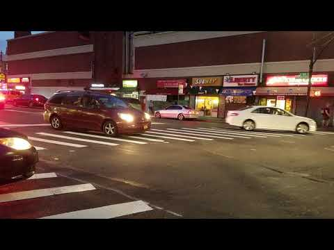 FDNY EMS Responding On Southern BLVD In The South Bronx, New York