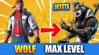 SEASON 6 LEVEL 100 SKIN WOLF AUF MAXIMALES LEVEL SPIELEN!! (Teil 3) - Fortnite Battle Royale
