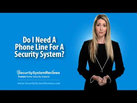Do I Need A Phone Line For A Home Security System?