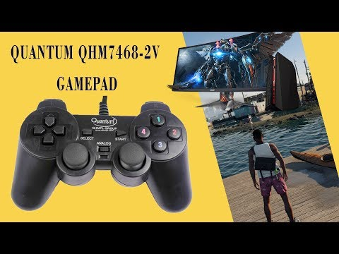 Quantum Gamepad Review In Win 10,8.1 || Testing PC And PPSSPP Games