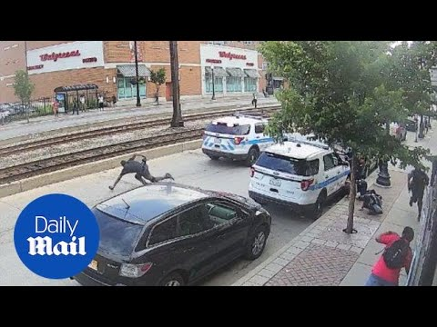 Surveillance cameras catch shooting of Harith Augustus by CPD